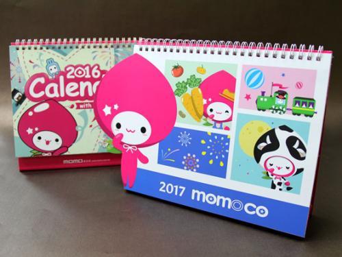 MOMO桌曆